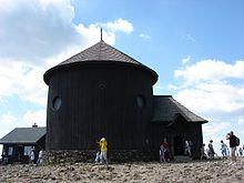 St Lawrence's chapel on the Śnieżka peak.jpg