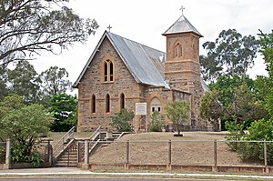 Rylstone, New South Wales - St Malachy's Church Rylstone