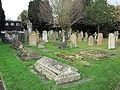 St Mary's Church Graveyard, Datchet in Berkshire.jpg