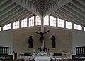 St Maximilian Maria Kolbe Church (interior), 86 osiedle Tysiaclecia, Mistrzejowice, Krakow, Poland.jpg