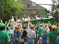 St Pats Parade Day Metairie 2012 Parade B6.JPG