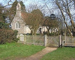 Milden, Suffolk - Image: St Peter's Church, Milden geograph.org.uk 724655