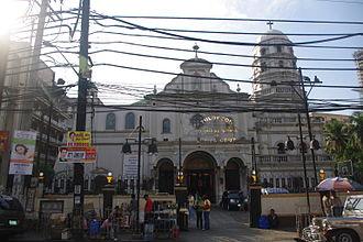 Santa Cruz, Manila - Image: Sta. Cruz Church, Manila