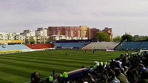 Stadionul Oțelul - Image: Stadionul Otelul, Galati