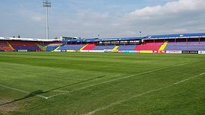 Stadionul Trans-Sil - Image: Stadionul Trans sil