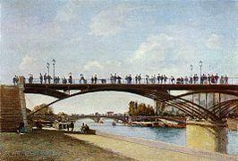 62491c97b21564 En 1875, peint par Stanislas Lépine.