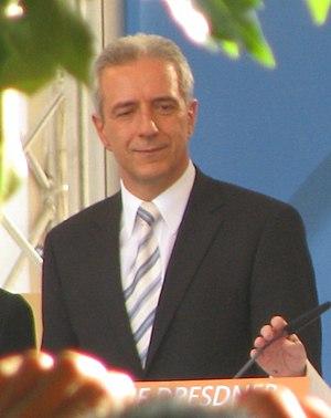 Deutsch: Stanislaw Tillich, Ministerpräsident ...