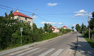 Stare Lewkowo Village in Podlaskie, Poland