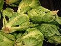 Starr-070730-7837-Brassica oleracea-brussels sprouts-Foodland Pukalani-Maui (24890440965).jpg