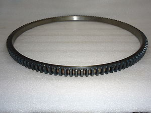 Starter ring gear - Picture of a typical starter ring  gear
