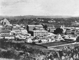History of Brisbane - Brisbane town, 1870