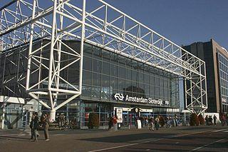 Amsterdam Sloterdijk station railway station in the Dutch city of Amsterdam