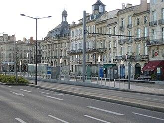 Station CAPC (Musée d'Art Contemporain) (Tram de Bordeaux) - Station CAPC