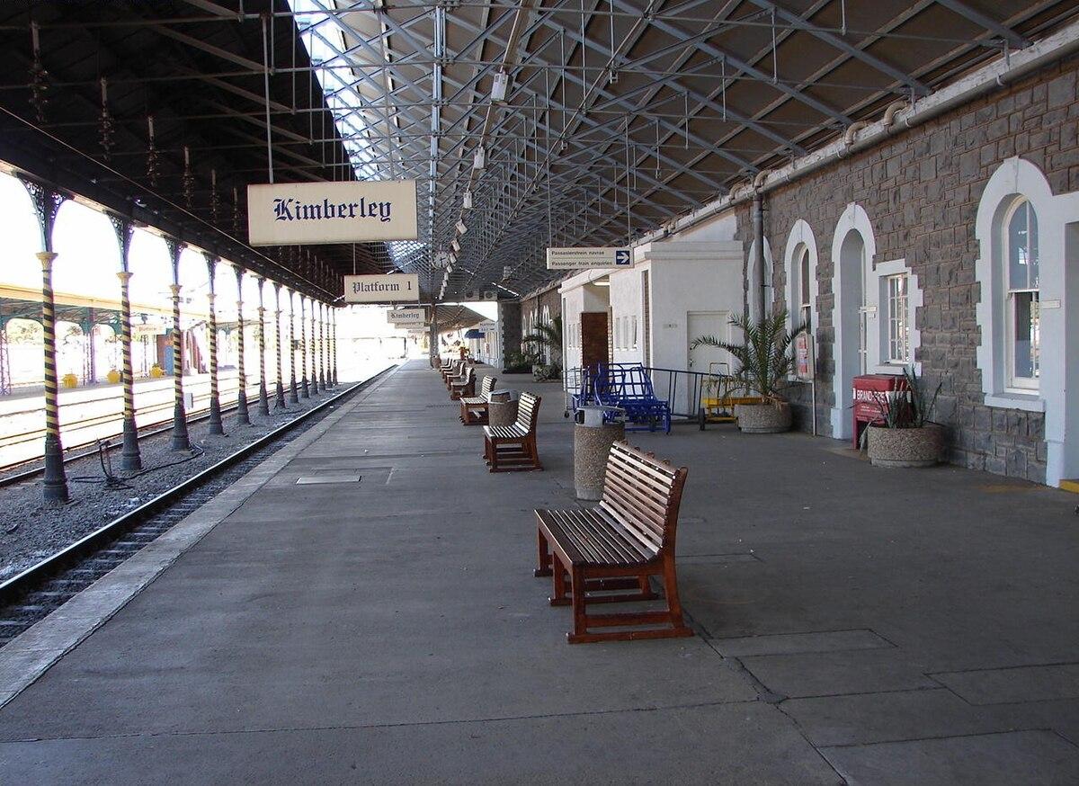 Kimberley railway station South Africa  Wikipedia