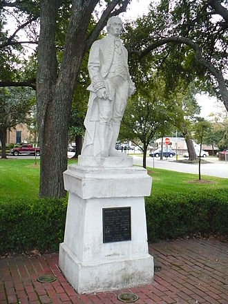 Bernardo de Gálvez - Statue of Bernardo de Galvez in Spanish Plaza, Mobile, Alabama.