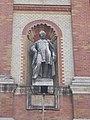 Statue of Birly, Obstetrics and Gynecology Clinic, Semmelweis University, 2016 Palotanegyed.jpg