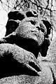 Statue on grave stone in Southern Cemetery, Manchester 16489374064.jpg