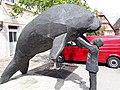 Steller manatee statue 1.jpg
