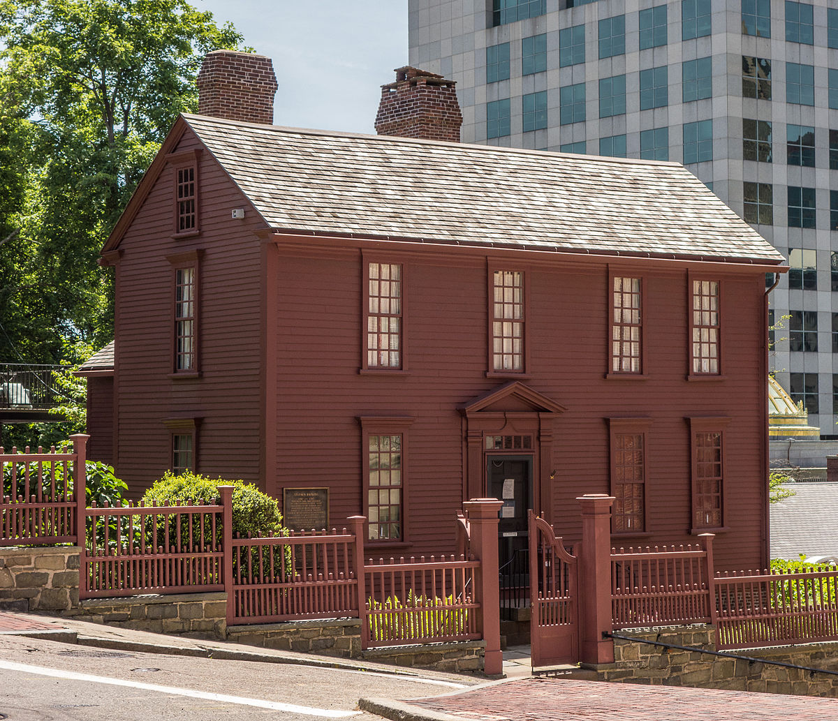 Home Pictures: Governor Stephen Hopkins House