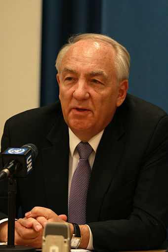 Stephen J. Rapp, chief prosecutor Stephen J. Rapp, Ambassador-at-Large for War Crimes Issues.jpg