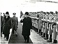 Stevan Kragujevic, Nikolae Causescku, Dolazak u Beograd 1.jpg