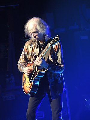 Steve Howe (musician) - Howe performing with Yes in 2013.