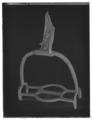 Stigbygel, s. k. Maximiliantyp, Sverige, 1500-talet - Livrustkammaren - 70805-negative.tif