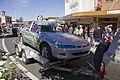 Stock car in the SunRice Festival parade in Pine Ave (3).jpg