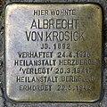 Stolperstein Motzstr 9 (Schön) Albrecht von Krosigk.jpg