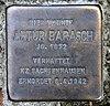 Stolperstein Wissmannstr 11 (Grune) Artur Barasch.jpg