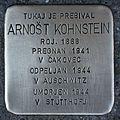 Stolperstein für Arnost Kohnstein.JPG
