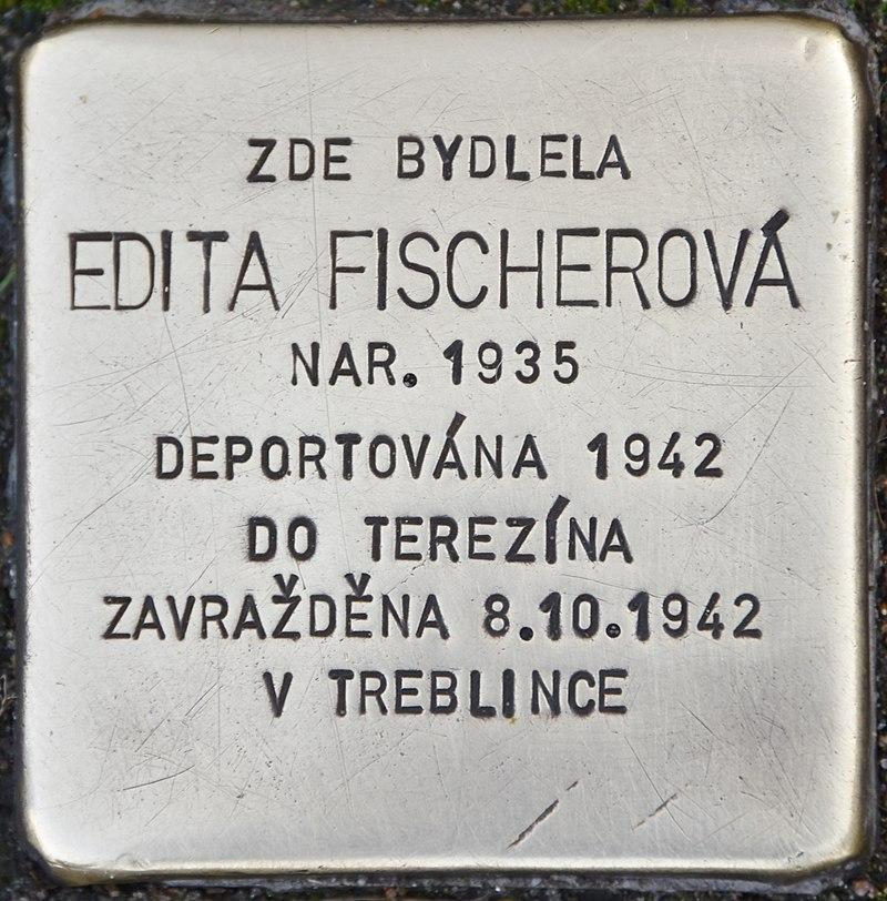 Stolperstein für Edita Fischerova.jpg