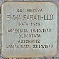 Stolperstein für Emma Sabatello (Rom).jpg