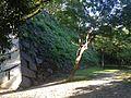 Stone wall of Tenshu of Fukuoka Castle 8.JPG