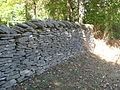 Stone wall on the western side of Maple Grove Road.jpg