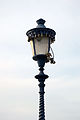Streetlight with padlocks Ponte Milvio.JPG