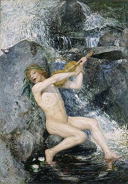 JOSEPHSON Ernst The Water Sprite 1884