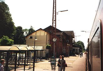 Bremen–Bremerhaven railway - Stubben