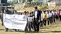 Students of Kanghmun South at the Public Information Campaign rally, at Kanghmun South, Lunglei Dist of Mizoram on November 28, 2014.jpg