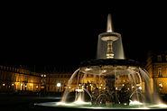Stuttgart Schlossplatz Nacht new