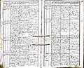 Subačiaus RKB 1832-1838 krikšto metrikų knyga 111.jpg
