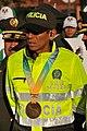 Subintendente Luis Fernando López, campeón medalla de Bronce en el XIII Campeonato Mundial de Atletismo de 2011 (6100262786).jpg