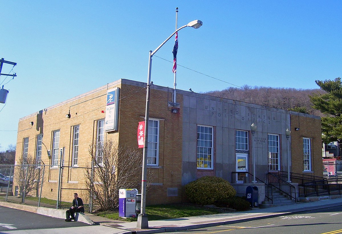 United States Post Office Suffern New York Wikipedia - Us post office map