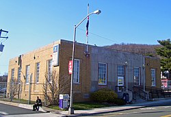 The U.S. Post Office in the Suffern section of Ramapo