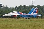 Sukhoi Su-30SM 'RF-81701 - 30 blue' (36768277433).jpg