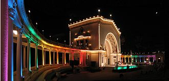 Spreckels Organ Pavilion - A Monday evening concert in 2008