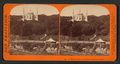 Summer House and Lake, Woodward's Garden, from Robert N. Dennis collection of stereoscopic views.png