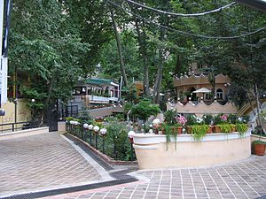 Darband, Tehran - Image: Summer Time, A Resturant in Darband, Tehran, Iran panoramio