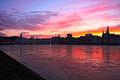 Sunset - 2009-01-21 - Pfaffenteich Schwerin (3227506051).jpg