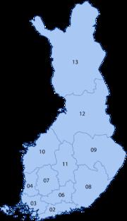 Eduskuntavaalit Vaalipiirit